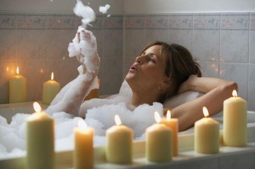 bagno rilassante