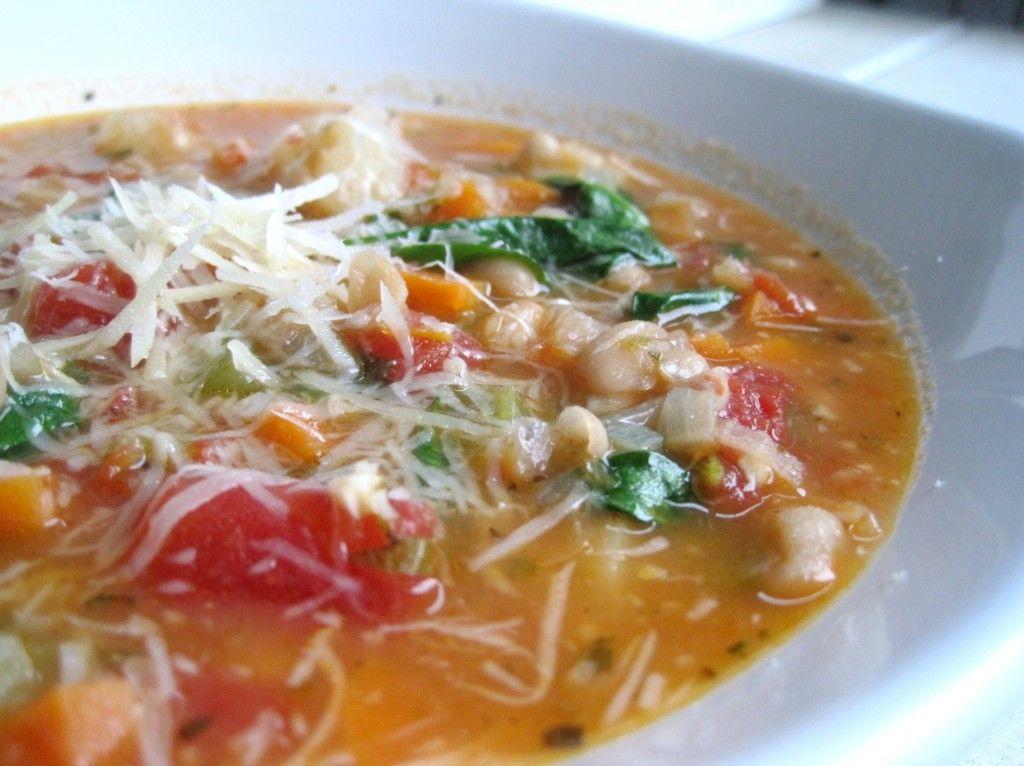 minestra ricetta