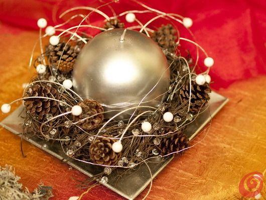 Natale 2014 come creare un centrotavola fai da te for Centrotavola natale pigne