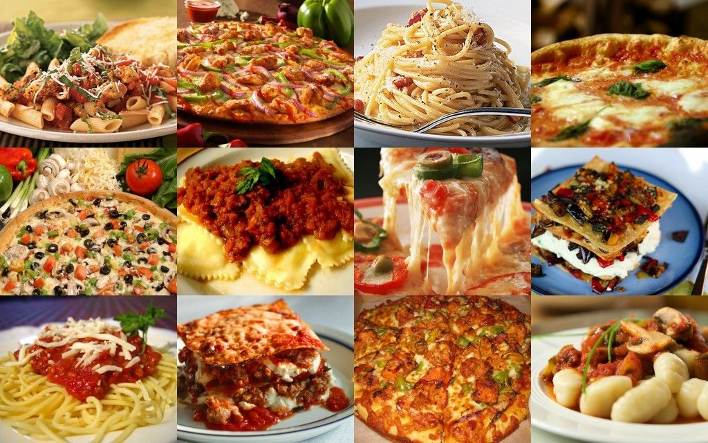 Risultati immagini per pizza e pasta