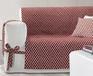 Crea un copridivano elegante e facile da realizzare - Come coprire un divano rovinato ...