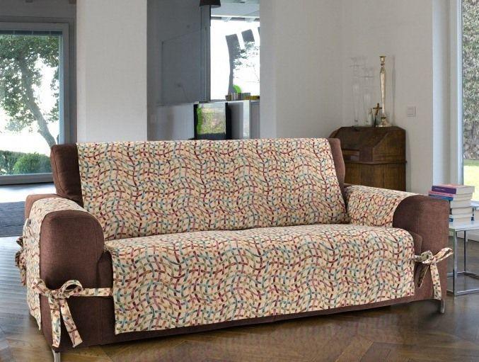 Crea un copridivano elegante e facile da realizzare - Copridivano per divano con penisola ...