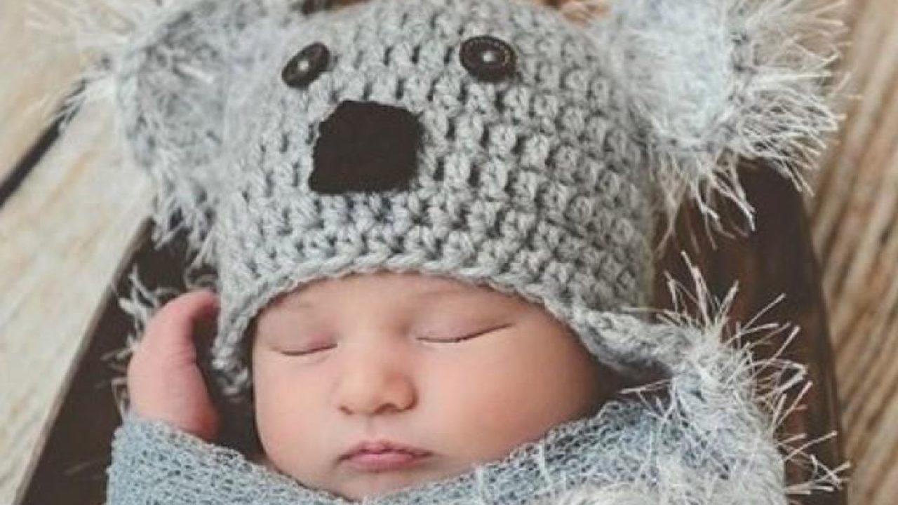 Conosciuto Tutorial cappellino neonato a maglia con le orecchie RL59