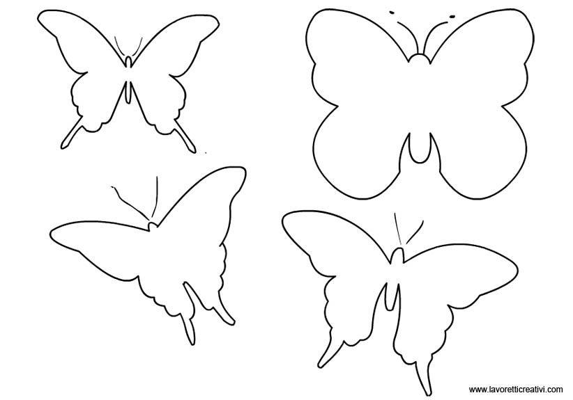 sagome-farfalle