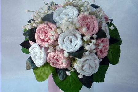 Bouquet Sposa Uncinetto Tutorial.Come Realizzare Un Bellissimo Bouquet Di Rose All Uncinetto