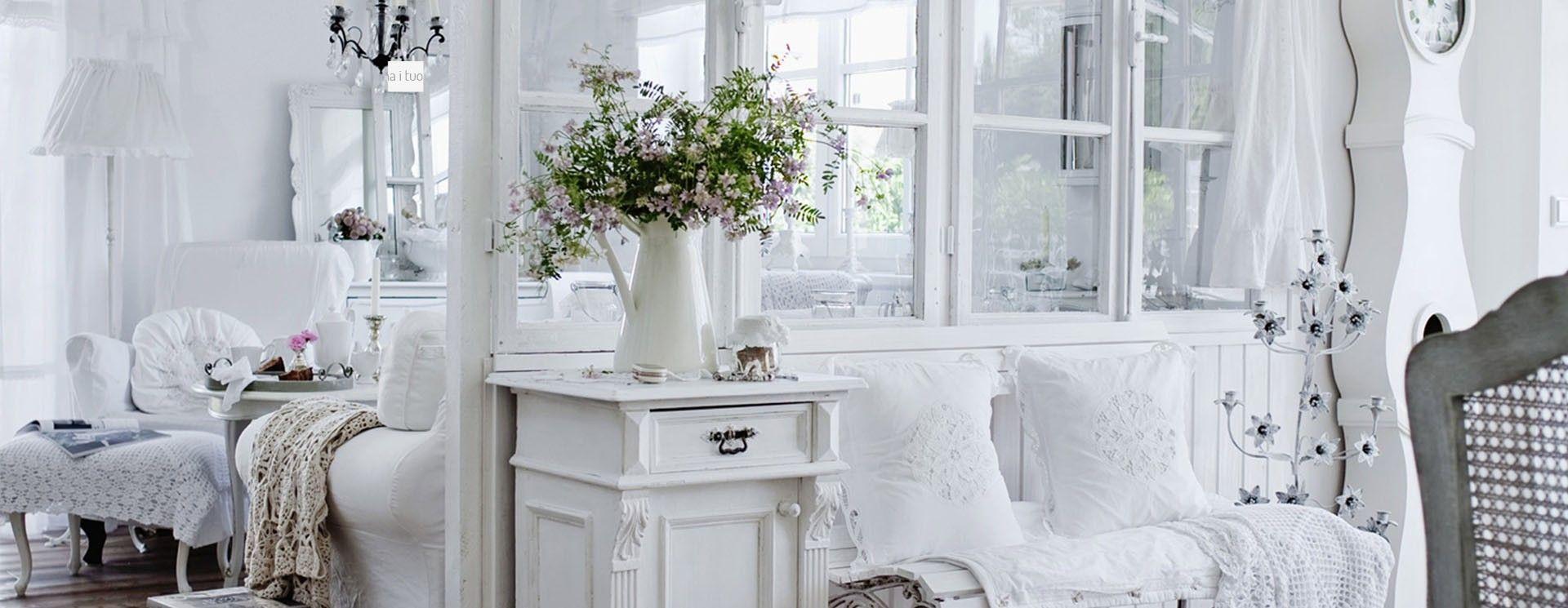 Tante idee per arredare la tua casa in stile shabby chic provenzale - Idee shabby chic per la casa ...