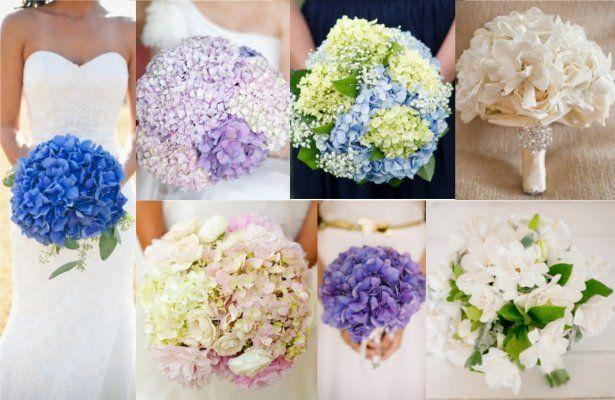Bouquet Sposa Ortensie.Bouquet Sposa Ortensie Gardenie Donnaweb Net