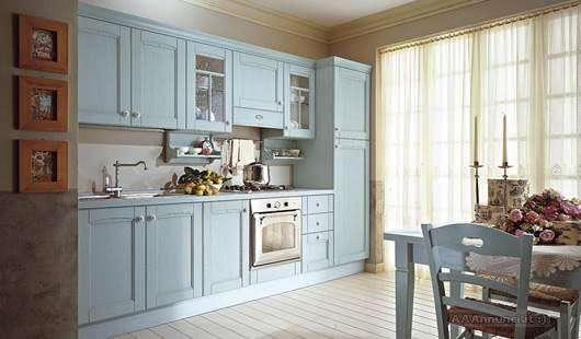 Arredamento azzurro cielo - Copridivano stile provenzale ...