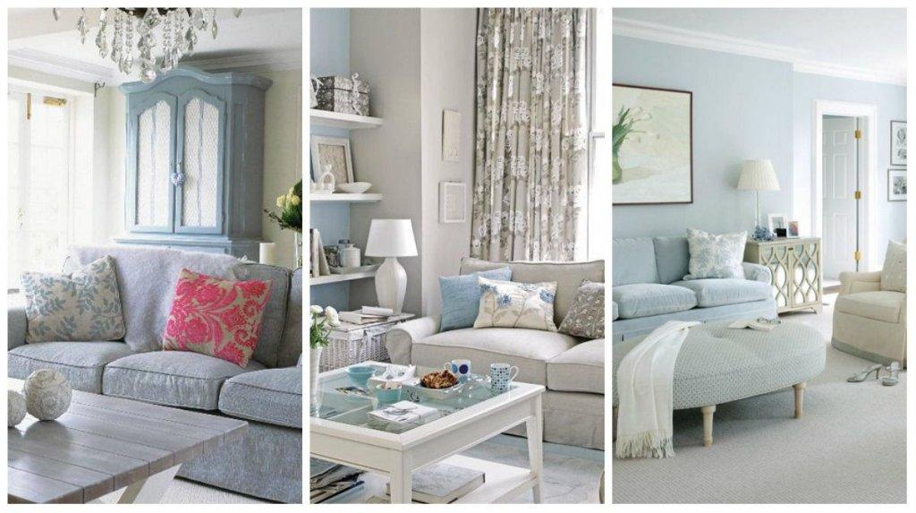 Arredare casa in stile shabby chic sui toni del grigio e - Arredare casa country chic ...