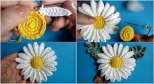 Crochet-Chamomile-Flower