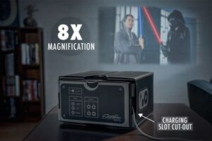 smartphone-projector-magnification