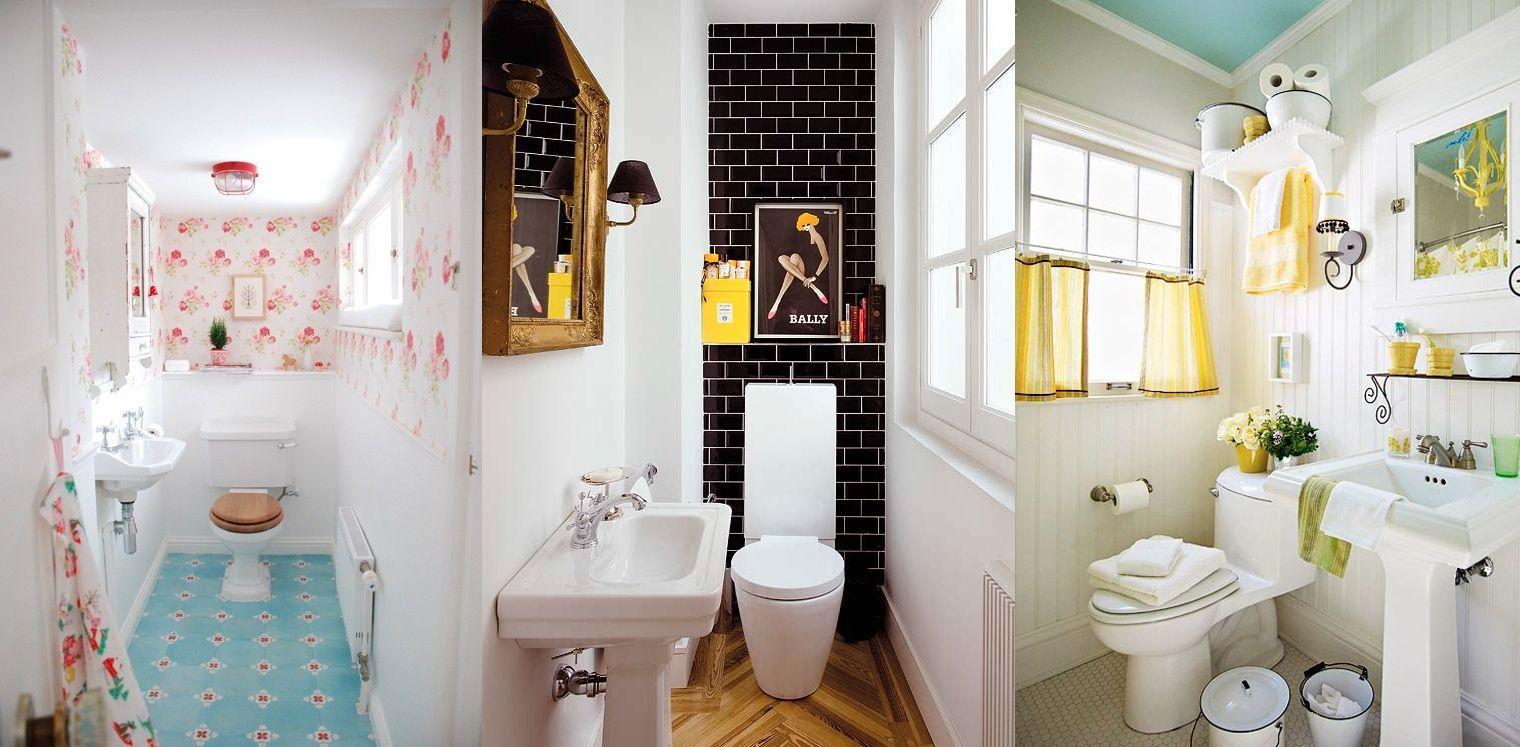 Tantissime idee per arredare un bagno piccolo - Idee per rivestire un bagno ...