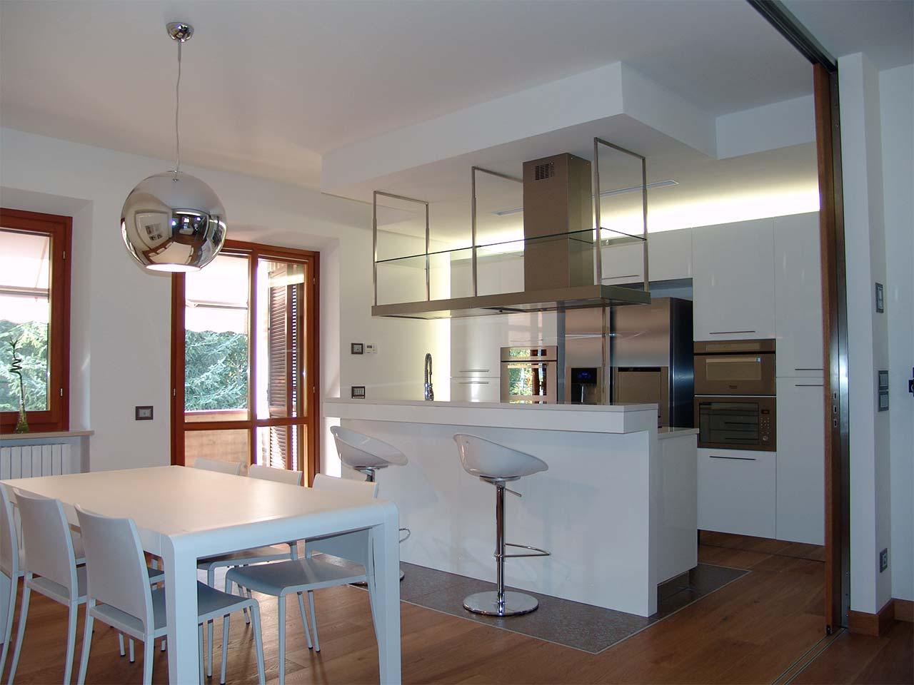 Cucina shabby disegno - Vetrate divisorie cucina soggiorno ...