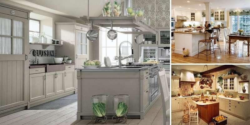 Trasformare la cucina in stile Shabby chic, attenzione ai ...
