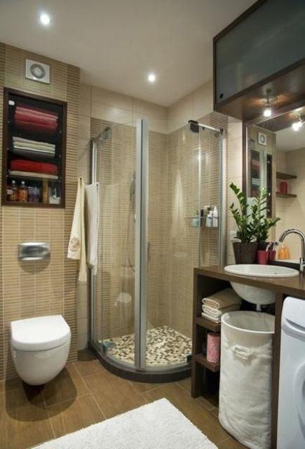 Idee per arredare un bagno piccolo 11 for Arredare un bagno piccolo
