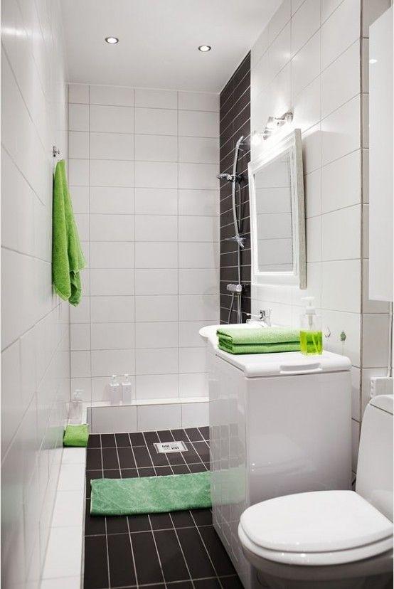 idee per arredare un bagno piccolo 21