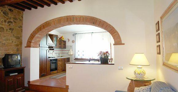 stunning separare cucina da soggiorno contemporary - home ideas ... - Dividere Cucina Dal Soggiorno Con Vetro 2