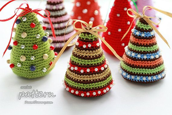Bellissimi Alberi Di Natale Alluncinetto Fai Da Te Scarica Lo Schema