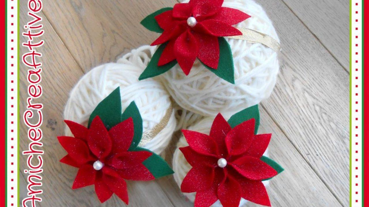 Stelle Di Natale Da Costruire stelle di natale fai da te in pannolenci (schema)