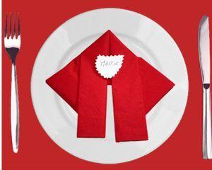 Diversi Bellissimi Modi Di Piegare I Tovaglioli Di Natale