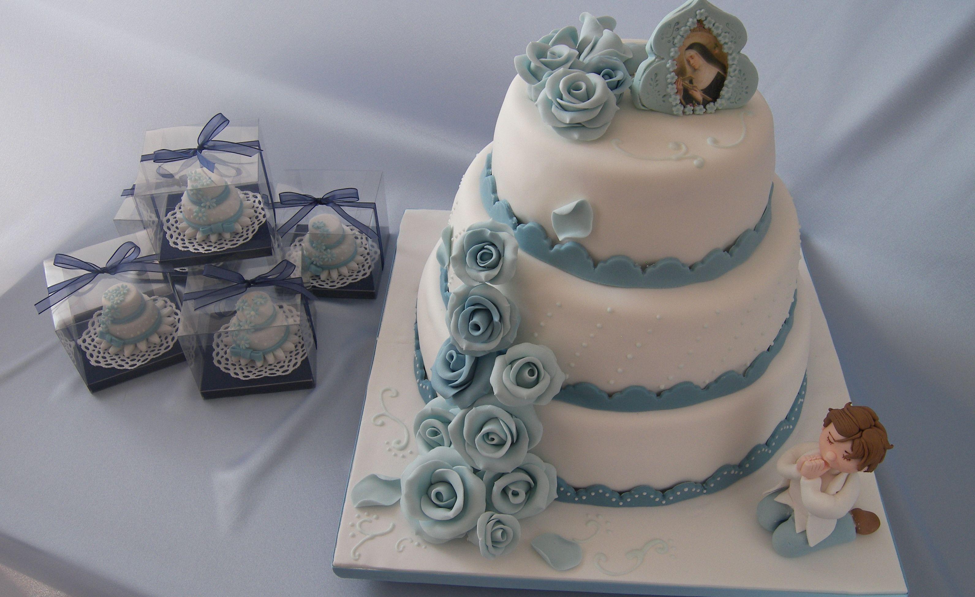 Favorito Tantissime idee per realizzare una torta per la Prima Comunione OO84