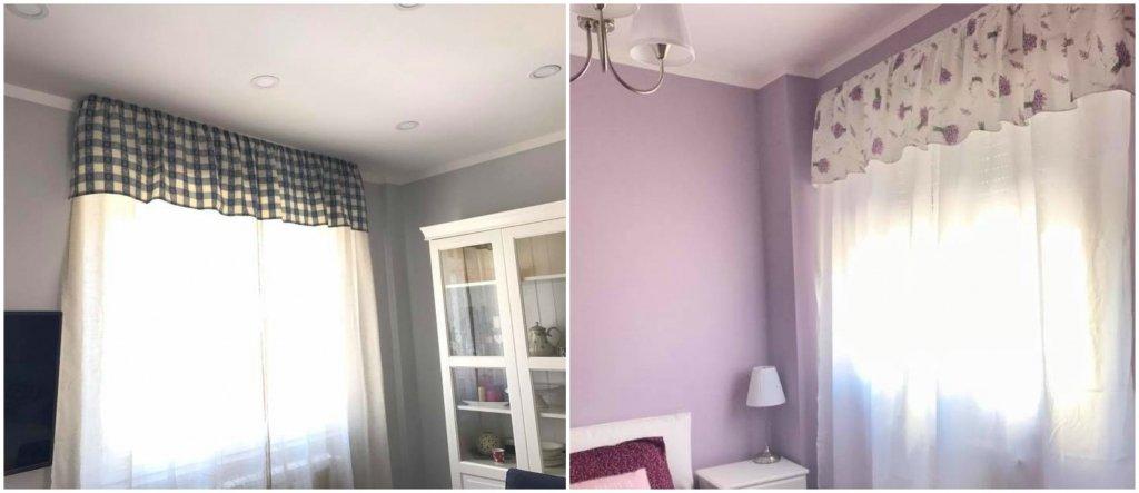 Come fissare tende e mantovane senza l 39 ausilio di bastoni e aste un trucco semplice ed - Aste per tende finestre ...