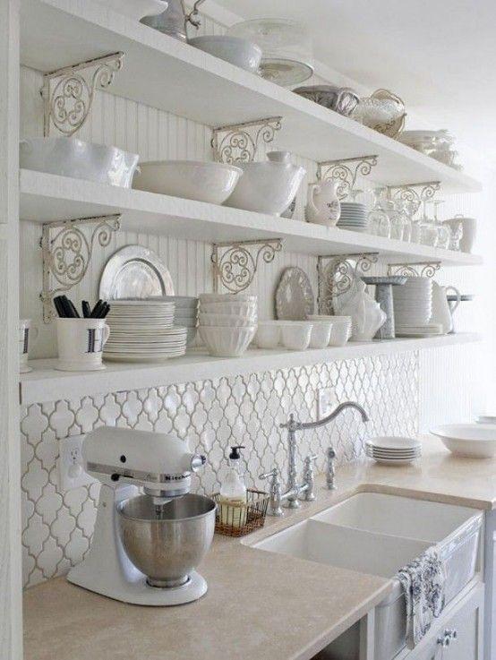 Tante idee per una cucina in stile shabby chic - Donnaweb.net