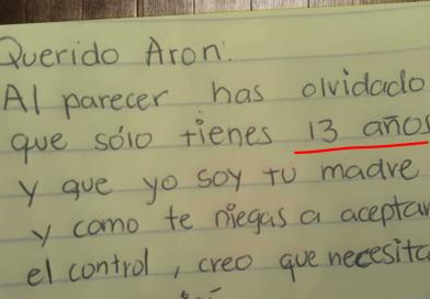 Stanca del figlio disobbediente gli scrive una lettera diventata virale sul web