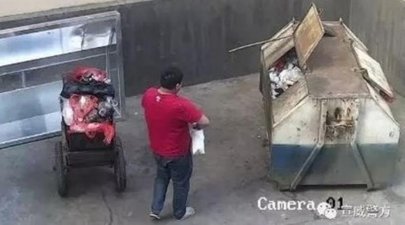 """Papà senza cuore getta la figlia appena nata nella spazzatura – ma viene salvata da """"angelo custode"""""""