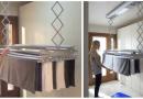 Il pratico stendino da soffitto con sistema di ventilazione a basso consumo: ecco dove lo trovi