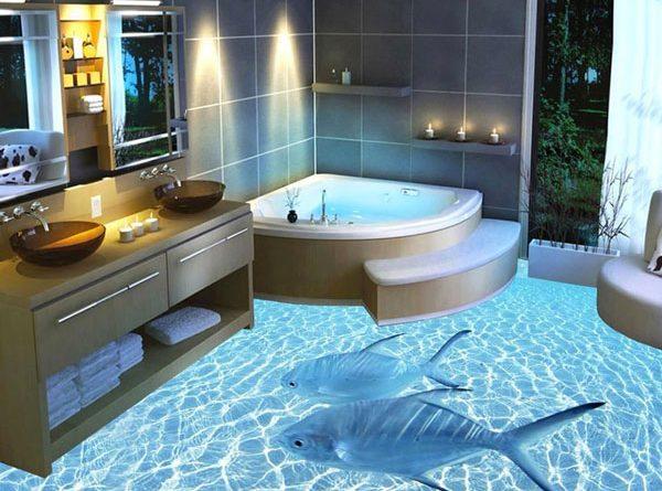 Bellissimi rivestimenti per bagno, colorato, mosaico o tinta unita ...