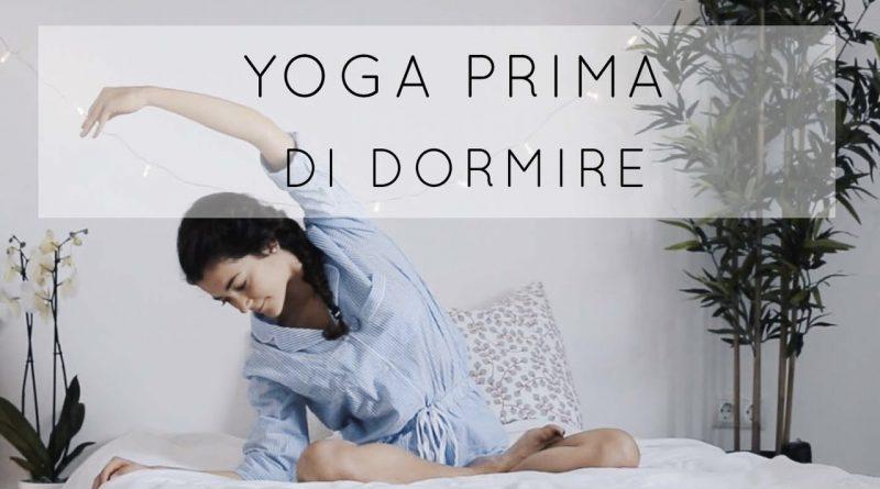 10 posizioni yoga per rilassarsi a letto prima di dormire
