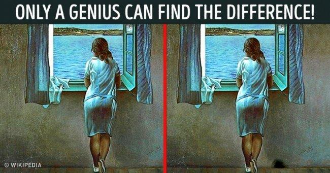 Devi essere un genio per trovare le differenze in queste immagini