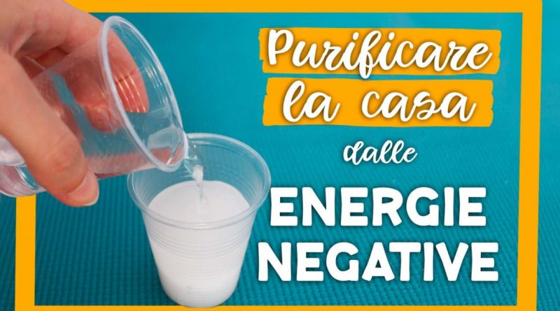 Energia Negativa Posiziona Un Bicchiere D Acqua E Sale In Casa