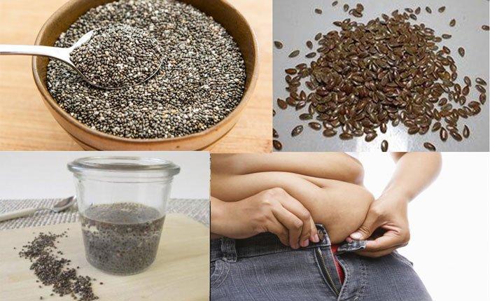 Puoi perdere 4 kili in pochi giorni con i semi di lino e di Chia