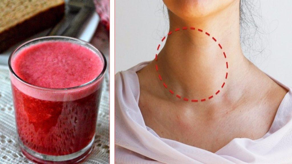 Bevi questo succo per perdere peso, regolare la tiroide e..