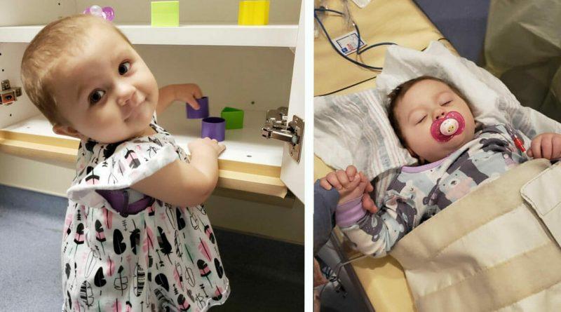 Bimba di due anni vince contro un terribile tumore dopo 15 mesi  all'ospedale