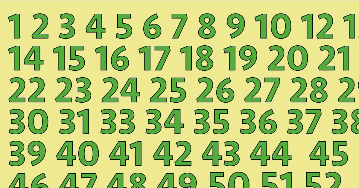 """Risultato immagini per Test di abilità visiva: quali numeri vedi"""""""