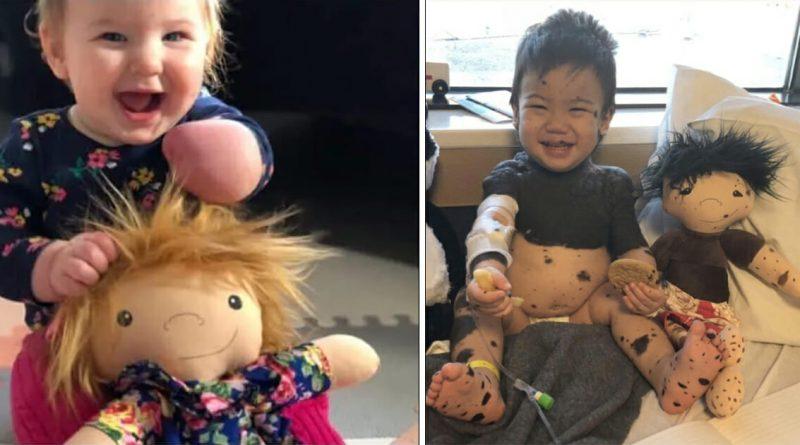 """Ex infermiera crea """"particolari bambole"""" per bambini malati o persone con disabilità"""