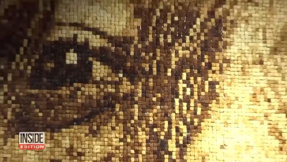 pane sottoforma di arte