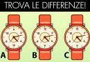 Sfida: Qual'è l'orologio diverso dagli altri?