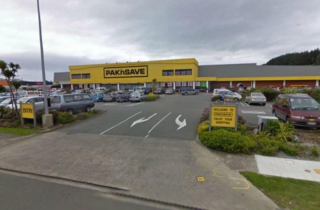 Supermercato dove si è tenuta la vicenda
