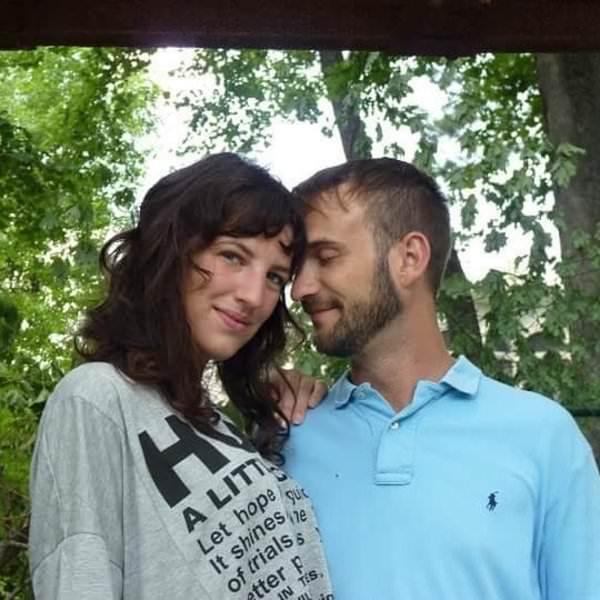 steve insieme a sua moglie hope