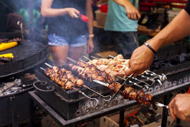 barbecue cipolla