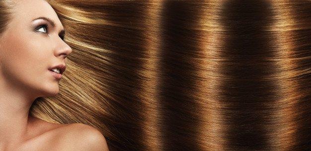 capelli perfetti dopo aver utilizzato zucchero e shampoo per capelli
